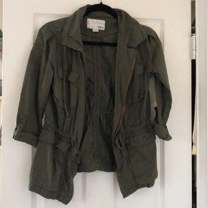 Hunter green cargo jacket